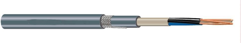 Grondkabel VG-YMvKas 4 x 25 ring 20 meter , Dca, s3, d2, a3