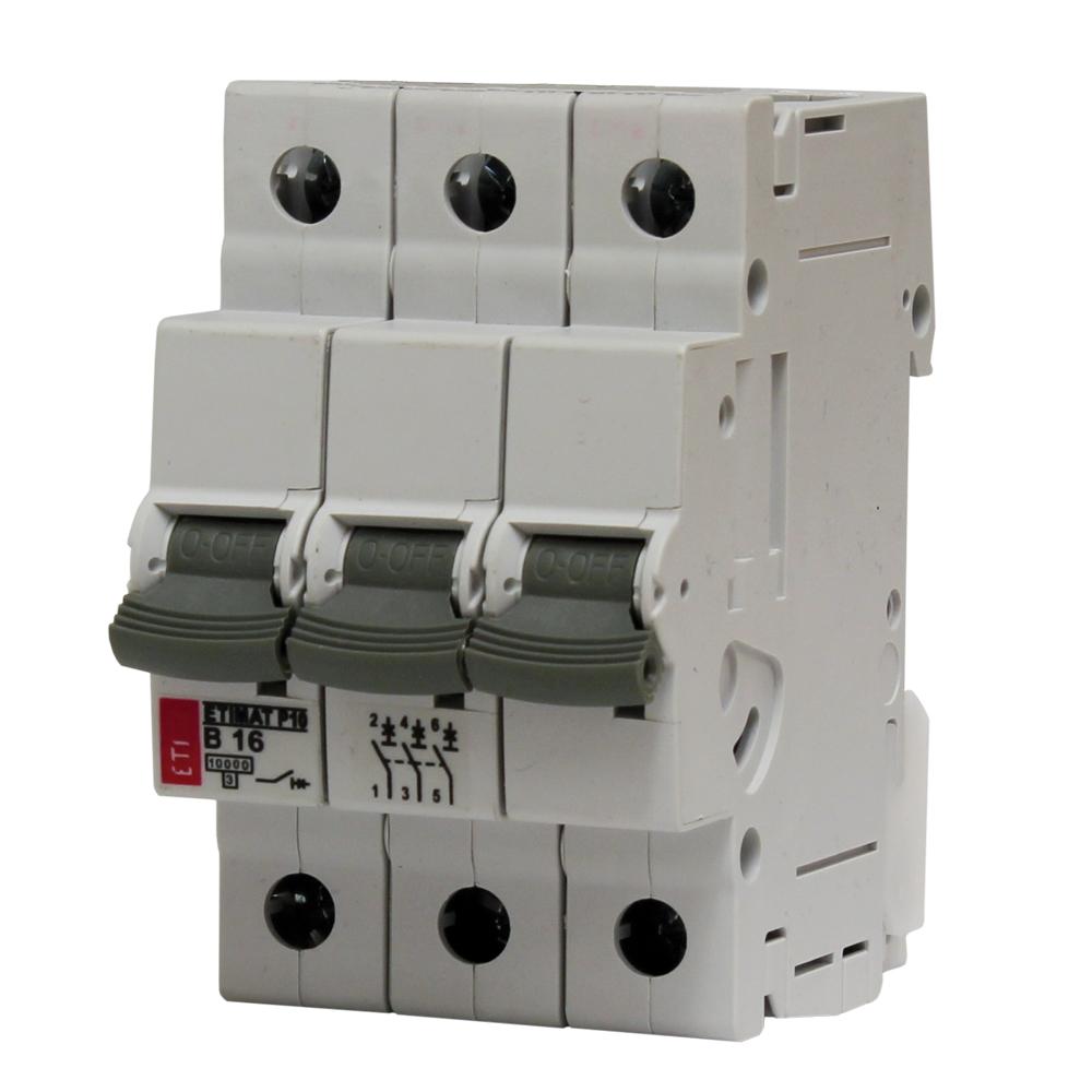 ETIMAT P10 B 10A 3mod. 3p 10k