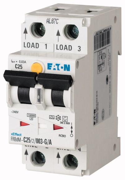 Digitale aardlekautomaat type G/A, 10kA, 2P, B, 10A, 10mA