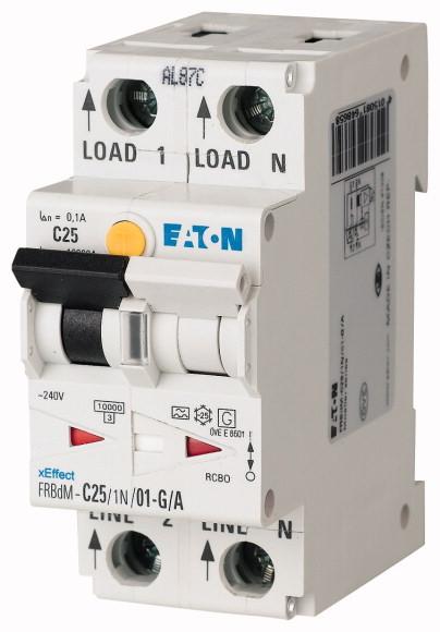 Digitale aardlekautomaat type G/A, 10kA, 1P+N, B, 10A, 10mA