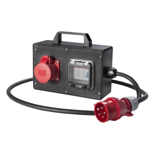 Volrubber adapterbox HELAF Groenlo 16 Amp.