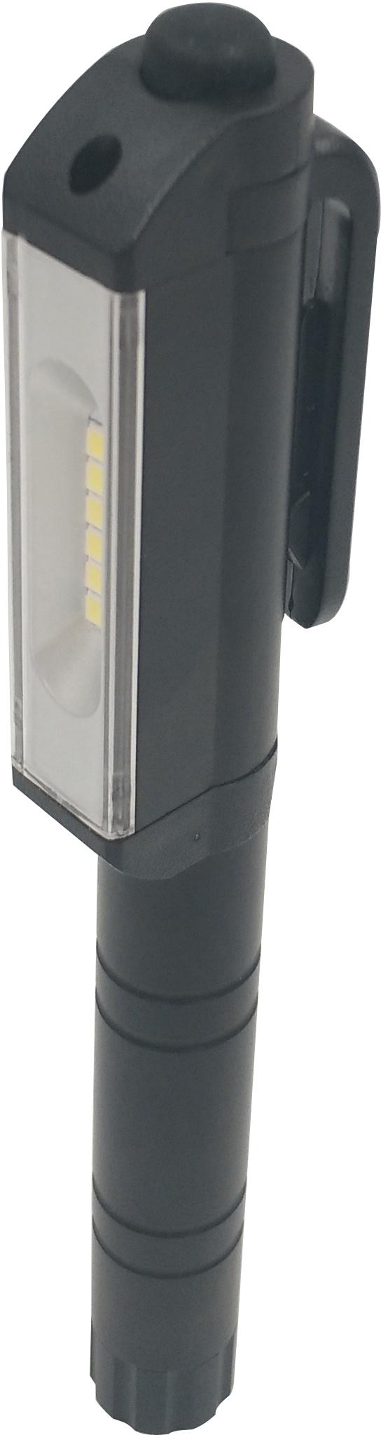 Looplamp BLD 3 6 Powerleds, clip met magneet incl. 3 AAA, 16 per display